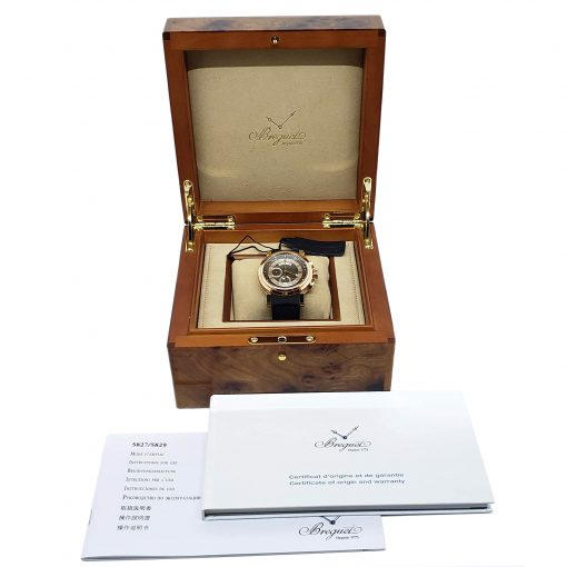 Breguet Marine 5827 18K Rose Gold Men's Watch, 5827BR/Z2/5ZU 2