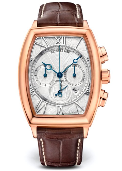 Brequet Héritage 5400 18K Rose Gold Men's Watch, 5400BR/12/9V6