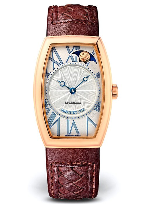 Brequet Héritage 3661 18K Rose Gold Ladies Watch, 8860BR/11/386