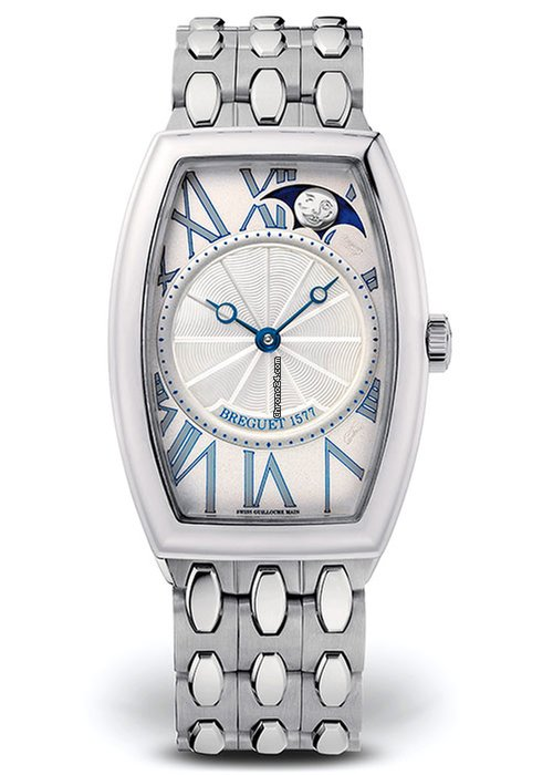 Brequet Héritage 3661 18K White Gold Ladies Watch, 8860BB/11/BB0