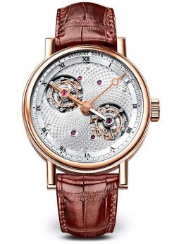 Brequet Double Tourbillon 5347 18K Rose Gold Men's Watch 5347BR/11/9ZU