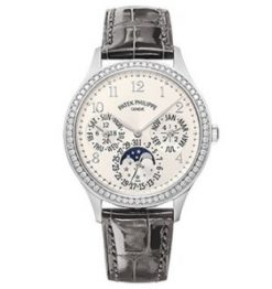 Patek Philippe Grand Complications Perpetual Calendar 35.1 mm White Gold Ladies Watch 7140G-001