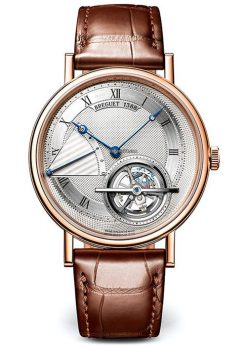 Brequet Classique Tourbillon Extra-Plat 5377 18K Rose Gold Men's Watch 5377BR/12/9WU