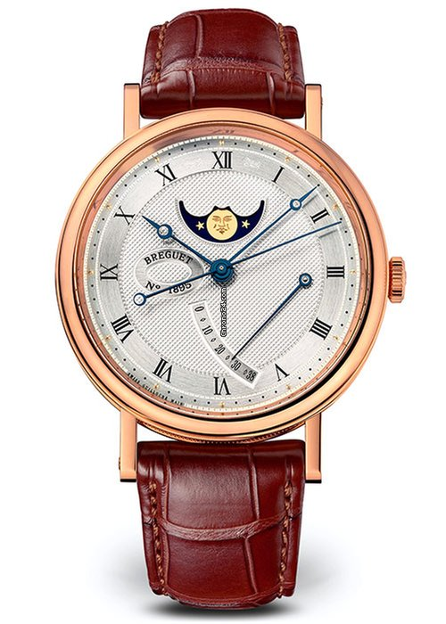 Brequet Classique 7787 18K Rose Gold Men's Watch, 7787BR/12/9V6