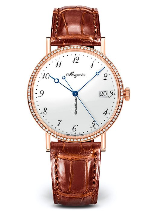 Brequet Classique 5287 18K Rose Gold Ladies Watch, 5178BR/29/9V6/D000