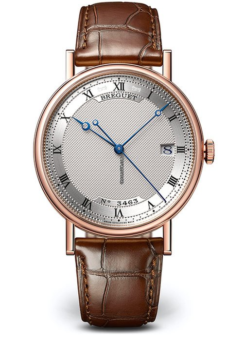 Brequet Classique 5177 18K Rose Gold Men's Watch, 5177BR/15/9V6