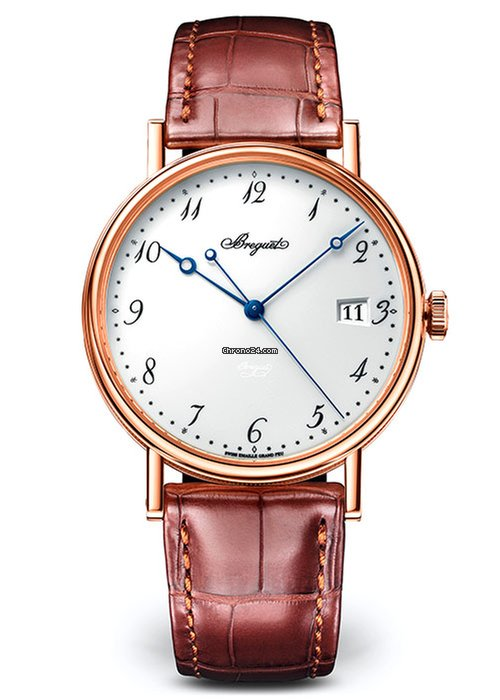 Brequet Classique 5177 18K Rose Gold Men's Watch, 5177BR/29/9V6