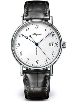 Brequet Classique 5177 18K White Gold Men's Watch 5177BB/29/9V6