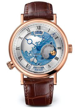 Brequet Hora Mundi 5717 18K Rose Gold Men's Watch 5717BR/AS/9ZU