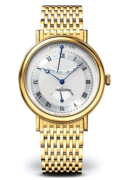 Brequet Classique 5207 18K Yellow Gold Men's Watch, 5207BA/12/AV0