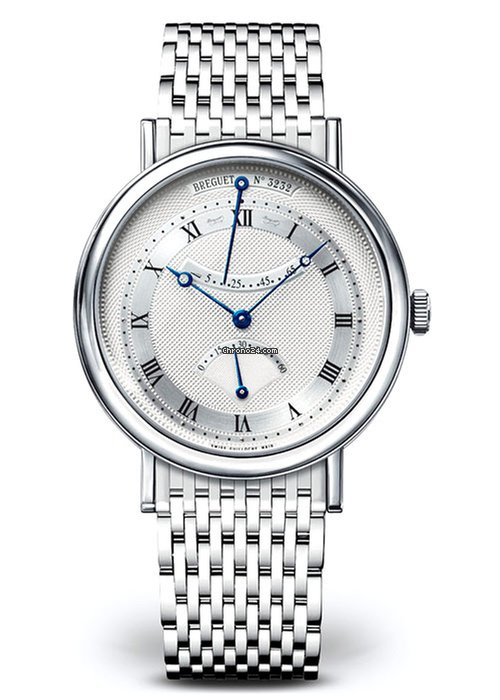 Brequet Classique 5207 18K White Gold Men's Watch, 5207BB/12/BV0