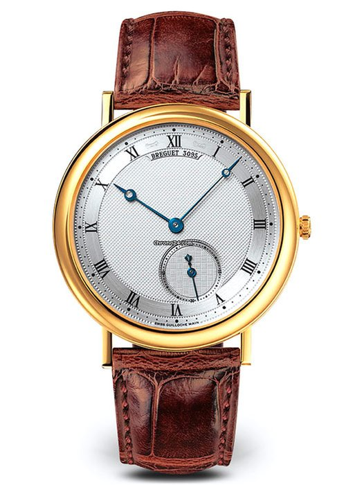 Brequet Classique 5140 18K Yellow Gold Men's Watch, 5140BA/12/9W6