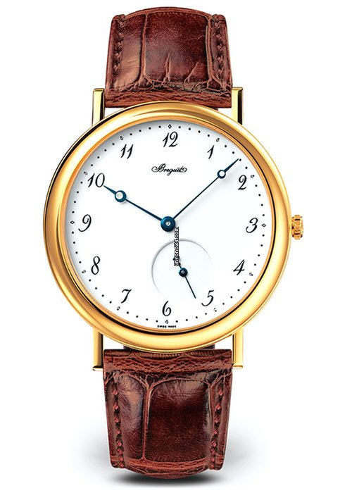 Brequet Classique 5140 18K Yellow Gold Men's Watch, 5140BA/29/9W6