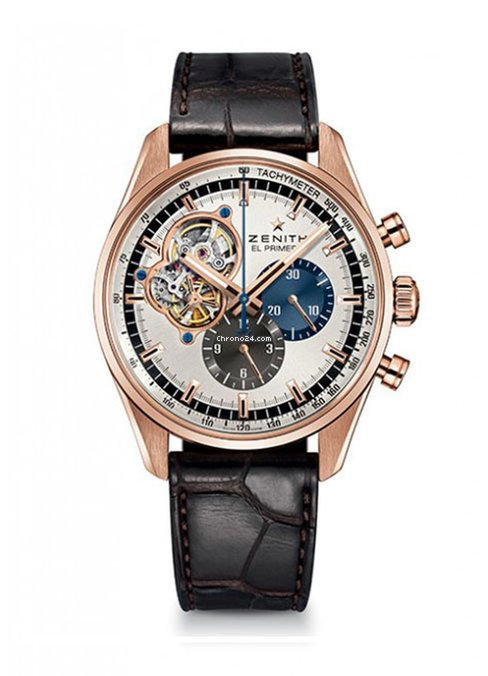 Zenith Chronomaster El Primero Open 18K Rose Gold Men's Watch, 18.2040.4061/69.C494