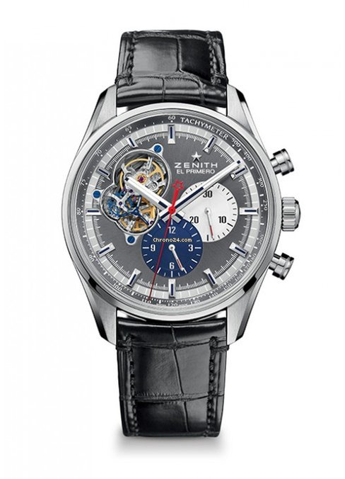 Zenith Chronomaster El Primero Open Stainless Steel Men's Watch, 03.2040.4061/23.C496