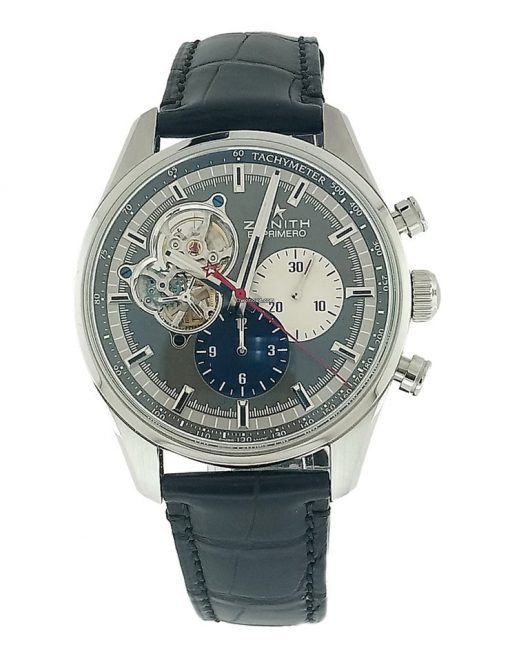 Zenith Chronomaster El Primero Open Stainless Steel Men's Watch, 03.2040.4061/23.C496 7