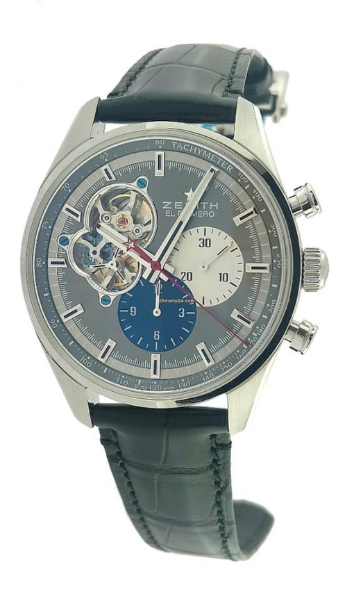 Zenith Chronomaster El Primero Open Stainless Steel Men's Watch, 03.2040.4061/23.C496 8