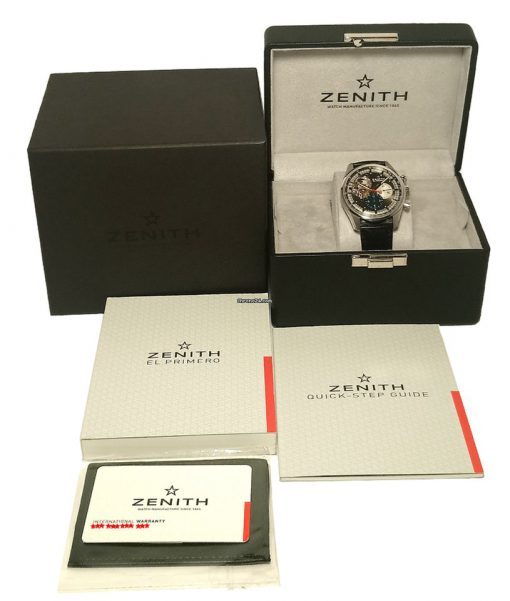 Zenith Chronomaster El Primero Open Stainless Steel Men's Watch, 03.2040.4061/23.C496 9