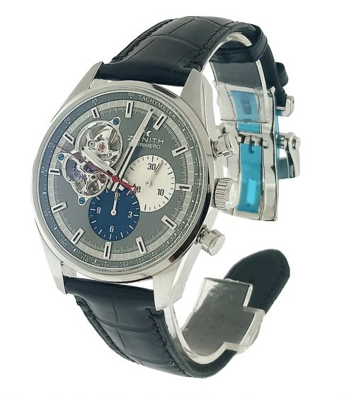 Zenith Chronomaster El Primero Open Stainless Steel Men's Watch, 03.2040.4061/23.C496 10