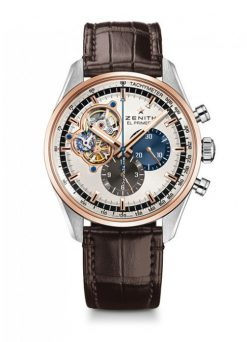Zenith Chronomaster El Primero Open Stainless steel & 18K Rose Gold Men's Watch 51.2080.4061/69.C494