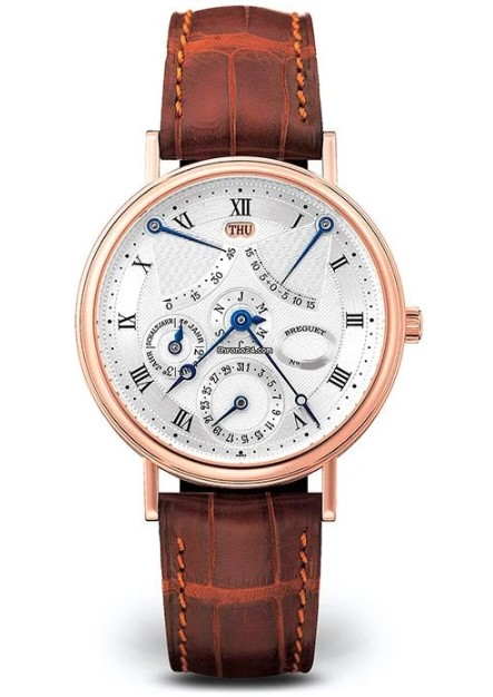 Brequet Classique complications 3477 18K Rose Gold Men's Watch, 3477BR/1E/986