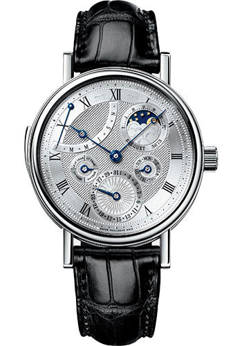 Brequet Classique complications 5447 18K White Gold Men's Watch, 5447BB/1E/9V6