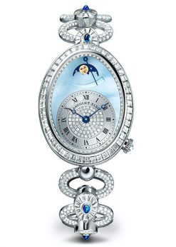 Brequet Reine de Naples 8978 18K White Gold Ladies Watch Preowned-8909BB/VD/J29.DDD0