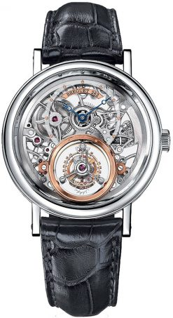 Brequet Tourbillon Messidor 5335 Platinum Men's Watch 5335PT/42/9W6