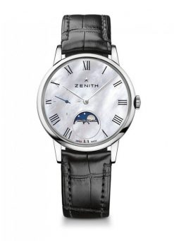 Zenith Elite Lady Moonphase Stainless Steel Ladies Watch 03.2320.692/81.C714