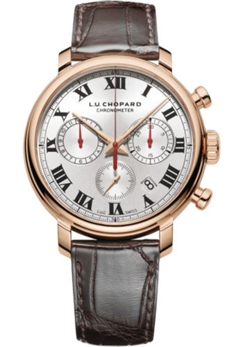 Chopard L.U.C 1963 Chronograph 18K Rose Gold Men's Watch, 161964-5001