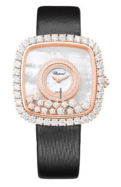 Chopard Happy Diamonds 18K Rose Gold & Diamonds Ladies Watch 204368-5001