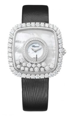 Chopard Happy Diamonds 18K White Gold & Diamonds Ladies Watch 204368-1001