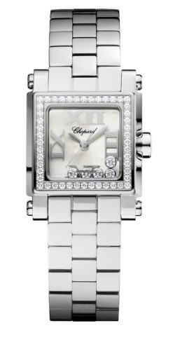 Chopard Happy Sport Stainless Steel & Diamonds Ladies Watch 278516-3004