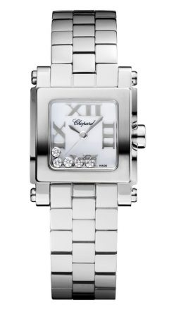Chopard Happy Sport Stainless Steel & Diamonds Ladies Watch 278516-3002