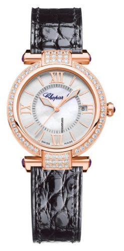 Chopard Imperiale 18K Rose Gold, Diamonds & Amethysts Ladies Watch 384319-5003