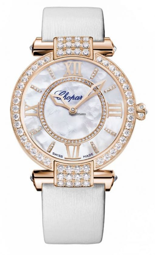 Chopard Imperiale 18K Rose Gold & Diamonds Ladies Watch, 384242-5005