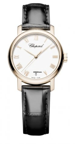 Chopard Classic 18K Rose Gold Ladies Watch 124200-5001