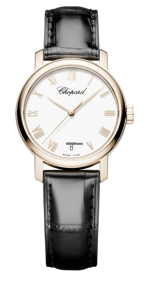 Chopard Classic 18K Rose Gold Ladies Watch, 124200-5001