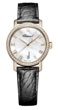Chopard Classic 18K Rose Gold & Diamonds Ladies Watch 134200-5001