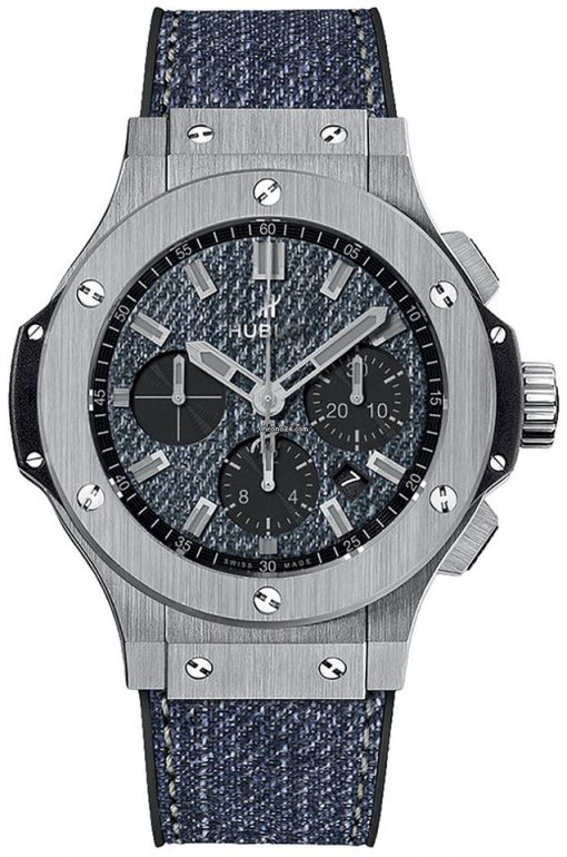 Hublot Big Bang 44 MM Jeans Stainless Steel Men's Watch, 301.SX.2770.NR.JEANS16