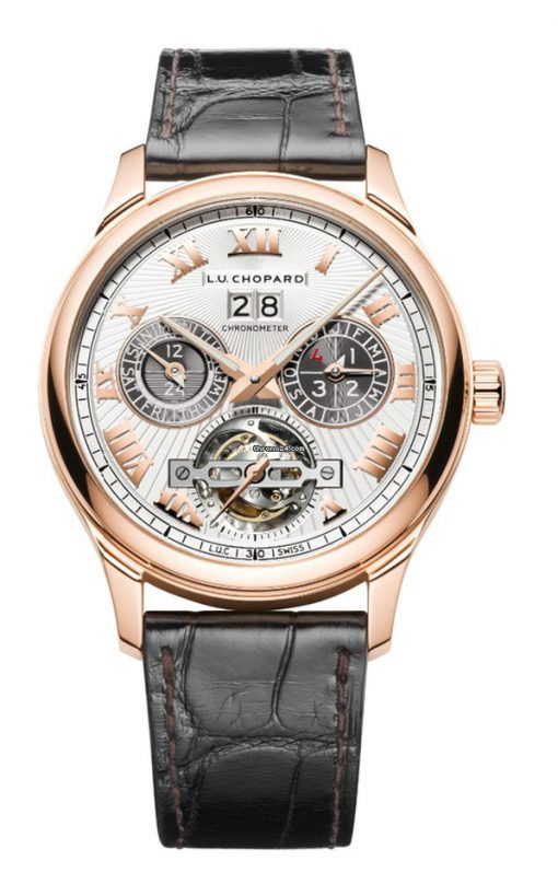 Chopard L.U.C Perpetual T 18K Rose Gold Men's Watch, 161940-5001