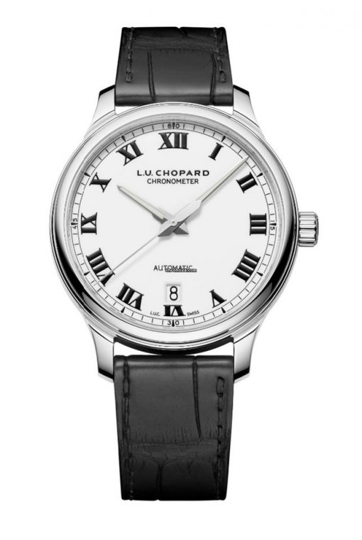 Chopard L.U.C 1937 Classic Stainless Steel Men's Watch, 168558-3002