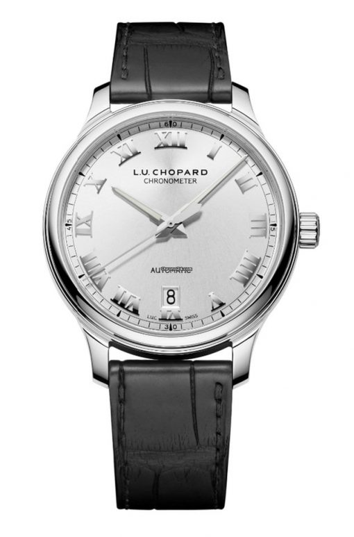 Chopard L.U.C 1937 Classic Stainless Steel Men's Watch, 168558-3001