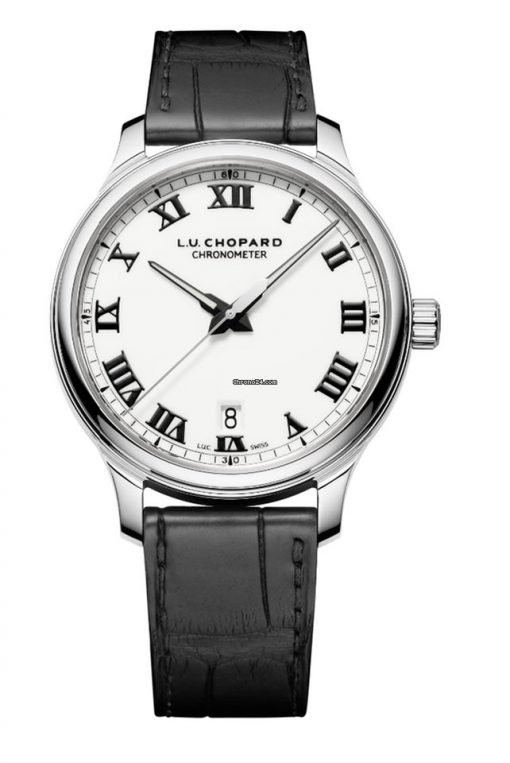 Chopard L.U.C 1937 Classic Stainless Steel Men's Watch, 168544-3001