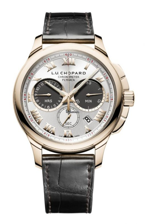 Chopard L.U.C Chrono One 18K Rose Gold Men's Watch, 161928-5001