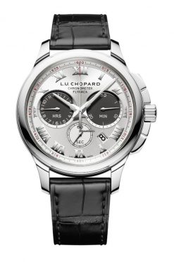 Chopard L.U.C Chrono One 18K White Gold Men's Watch 161928-1001