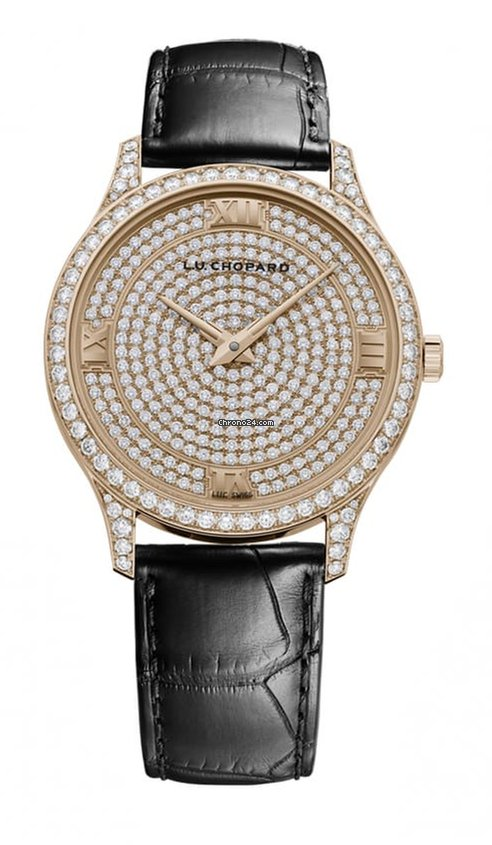 Chopard L.U.C XP 18K Rose Gold & Diamonds Ladies Watch, 171966-5003
