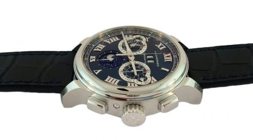 Chopard L.U.C Perpetual Chrono Platinum & 18K White Gold Men's Watch, 161973-9001 7