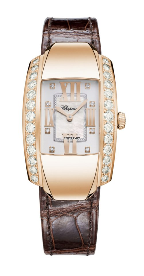 Chopard La Strada 18K Rose Gold & Diamonds Ladies Watch, 419402-5004