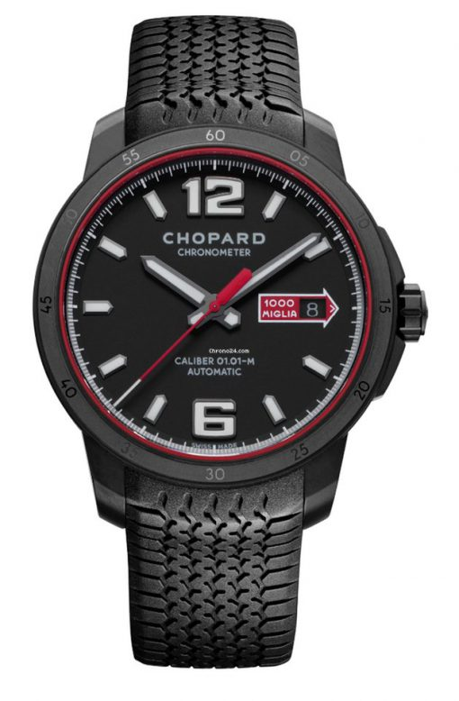 Chopard Mille Miglia GTS Automatic Speed Black Stainless Steel Men's Watch, 168565-3002